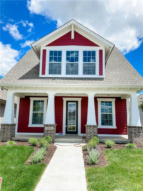 1519 Cloverdon Drive, Westfield, IN 46074 (MLS #21722001) :: Anthony Robinson & AMR Real Estate Group LLC