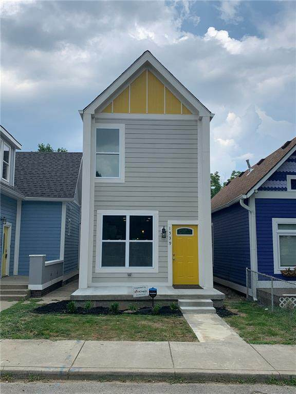 1539 S New Jersey Street S, Indianapolis, IN 46225 (MLS #21725466) :: Dean Wagner Realtors