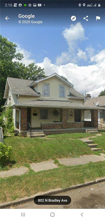 802 N Bradley Avenue, Indianapolis, IN 46201 (MLS #21727671) :: Anthony Robinson & AMR Real Estate Group LLC