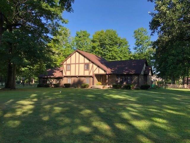 4504 S Brooklawn Drive, New Palestine, IN 46163 (MLS #21727834) :: The Indy Property Source