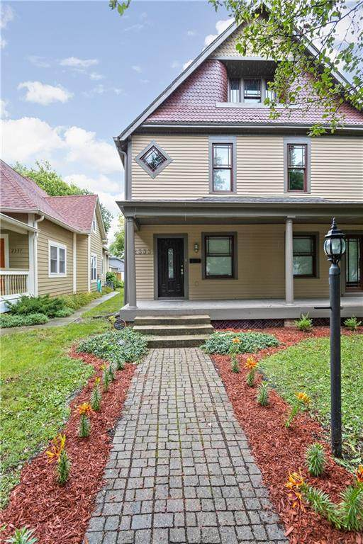 2333 N Talbott Street, Indianapolis, IN 46205 (MLS #21729333) :: Mike Price Realty Team - RE/MAX Centerstone