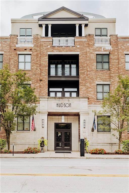 355 E Ohio Street #114, Indianapolis, IN 46204 (MLS #21729499) :: David Brenton's Team