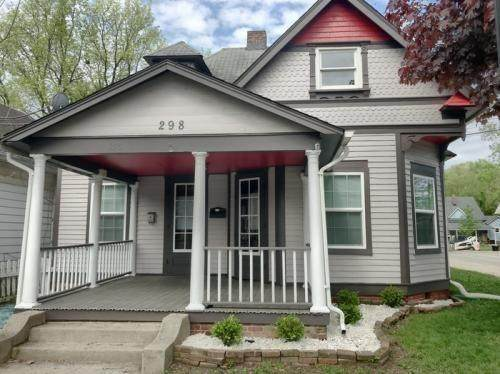 298 N Main Street, Franklin, IN 46131 (MLS #21730826) :: David Brenton's Team