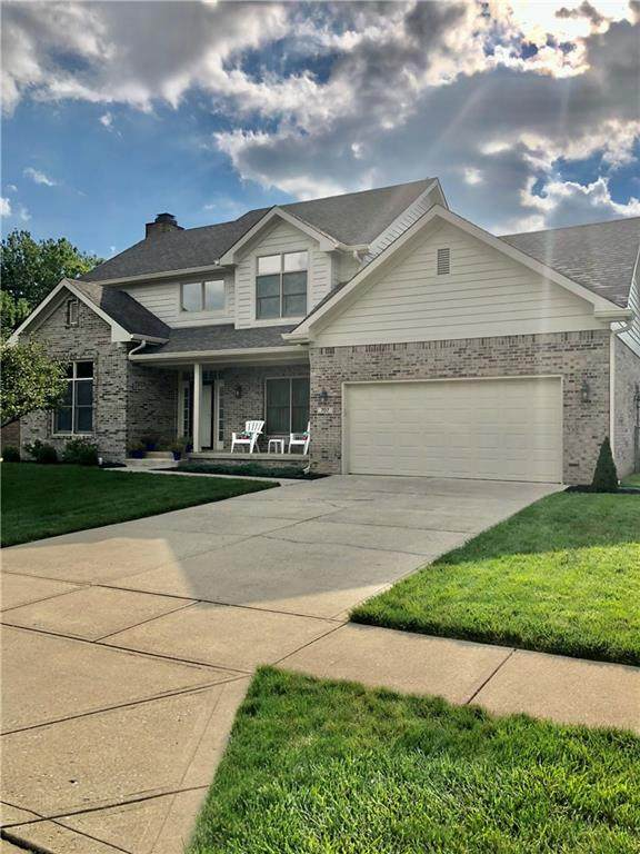 707 Viewpoint Drive, Plainfield, IN 46168 (MLS #21731622) :: The Indy Property Source
