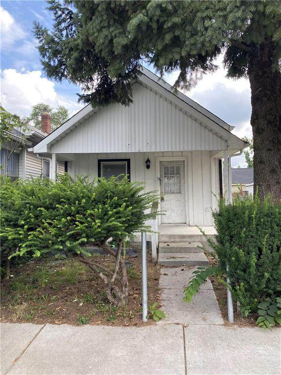 223 Sanders Street, Indianapolis, IN 46225 (MLS #21731833) :: The Indy Property Source