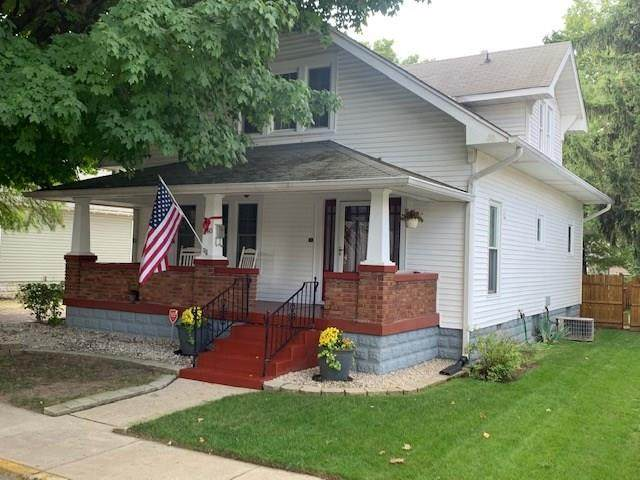 140 N Brewer Street, Greenwood, IN 46142 (MLS #21735215) :: The Evelo Team