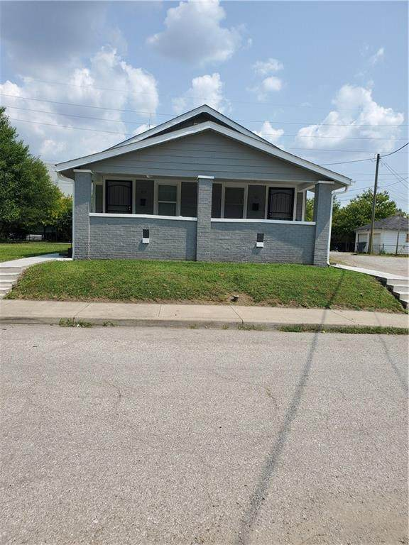 163 Harlan Street, Indianapolis, IN 46201 (MLS #21735594) :: AR/haus Group Realty