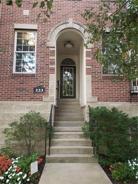 223 N New Jersey Street C, Indianapolis, IN 46204 (MLS #21737018) :: The Evelo Team
