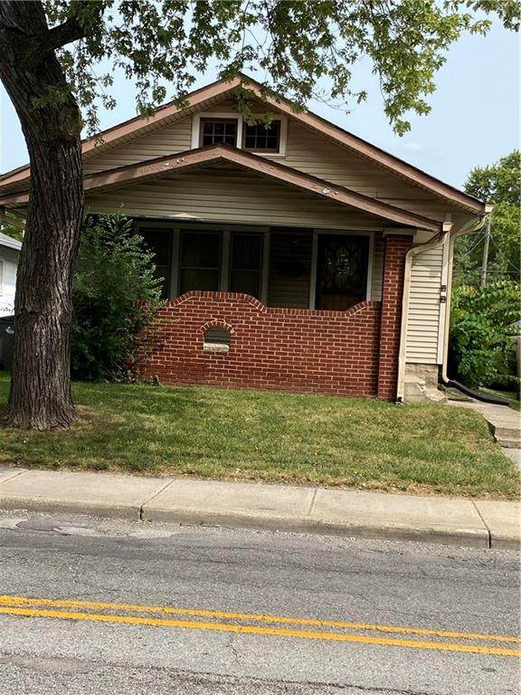 705 N Emerson Avenue, Indianapolis, IN 46219 (MLS #21738668) :: David Brenton's Team