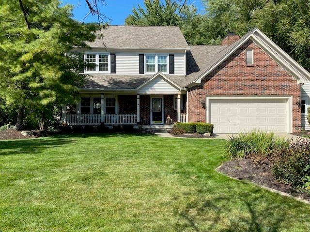 9218 Alton Court, Fishers, IN 46038 (MLS #21740489) :: David Brenton's Team