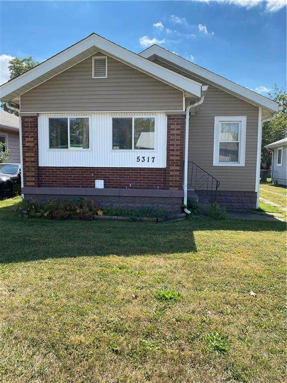 5317 English Avenue, Indianapolis, IN 46219 (MLS #21742364) :: The ORR Home Selling Team
