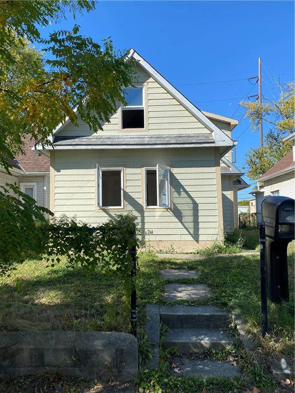 1860 Singleton Street, Indianapolis, IN 46203 (MLS #21744616) :: The ORR Home Selling Team