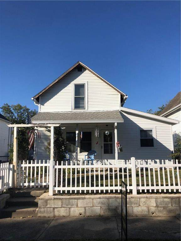 1606 C Avenue, New Castle, IN 47362 (MLS #21744812) :: Heard Real Estate Team | eXp Realty, LLC