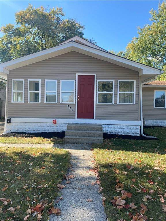 420 N 20th Avenue, Beech Grove, IN 46107 (MLS #21745742) :: Mike Price Realty Team - RE/MAX Centerstone