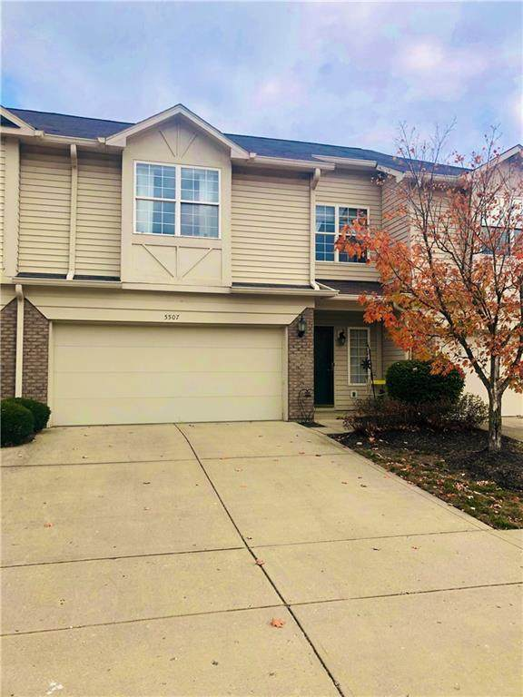 5507 Nighthawk Way, Indianapolis, IN 46254 (MLS #21746072) :: Mike Price Realty Team - RE/MAX Centerstone