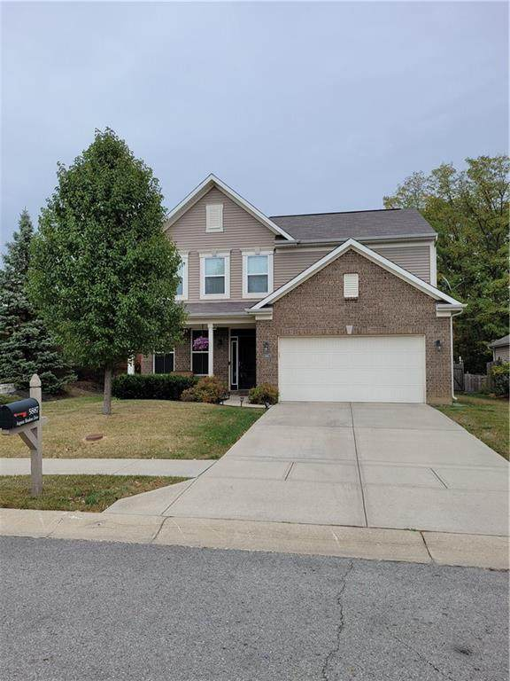 5887 Augusta Meadows Drive, Indianapolis, IN 46254 (MLS #21746361) :: Mike Price Realty Team - RE/MAX Centerstone