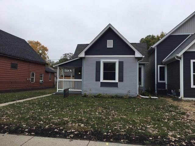 903 Dawson Street, Indianapolis, IN 46203 (MLS #21746760) :: Mike Price Realty Team - RE/MAX Centerstone