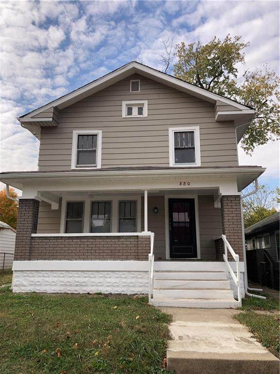 880 N Gladstone Avenue, Indianapolis, IN 46201 (MLS #21746992) :: Mike Price Realty Team - RE/MAX Centerstone