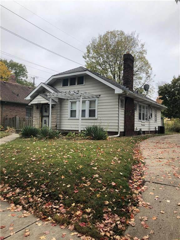 4906 N Kenwood Avenue, Indianapolis, IN 46208 (MLS #21747148) :: Richwine Elite Group