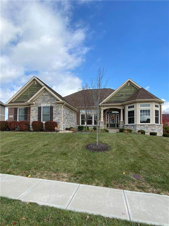 17026 Bluestone Drive, Noblesville, IN 46062 (MLS #21748591) :: Richwine Elite Group