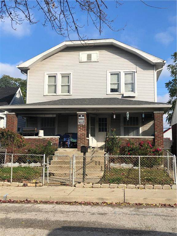 432 Sanders Street, Indianapolis, IN 46225 (MLS #21748862) :: Ferris Property Group
