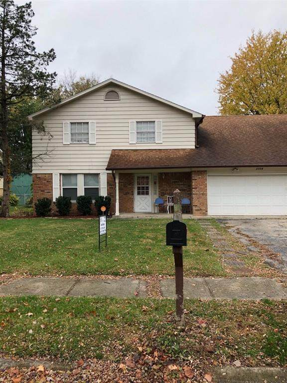 2724 N Astro Drive, Indianapolis, IN 46229 (MLS #21749182) :: The ORR Home Selling Team