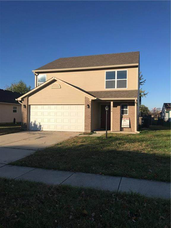 224 Harts Ford Way, Brownsburg, IN 46112 (MLS #21751183) :: The ORR Home Selling Team