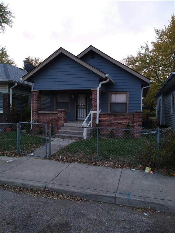 2832 Indianapolis Avenue, Indianapolis, IN 46208 (MLS #21751277) :: AR/haus Group Realty