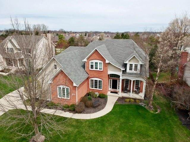 10662 Woodmont Lane, Fishers, IN 46037 (MLS #21752214) :: The ORR Home Selling Team
