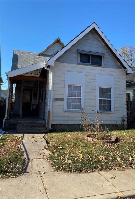 1622 S Delaware Street, Indianapolis, IN 46225 (MLS #21752215) :: The Evelo Team