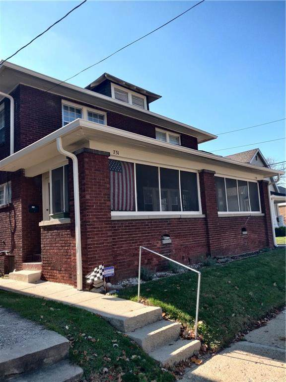 729-31 E 49TH Street, Indianapolis, IN 46205 (MLS #21752430) :: The ORR Home Selling Team