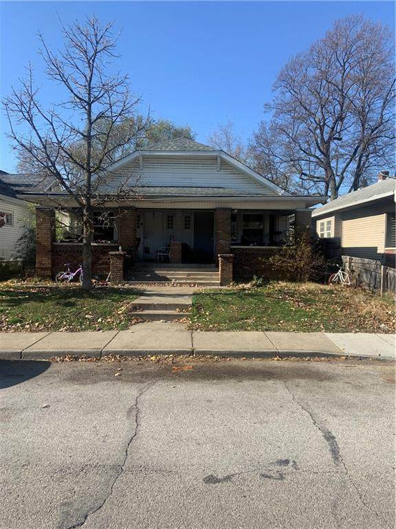 914 N Oxford Street, Indianapolis, IN 46201 (MLS #21752681) :: AR/haus Group Realty