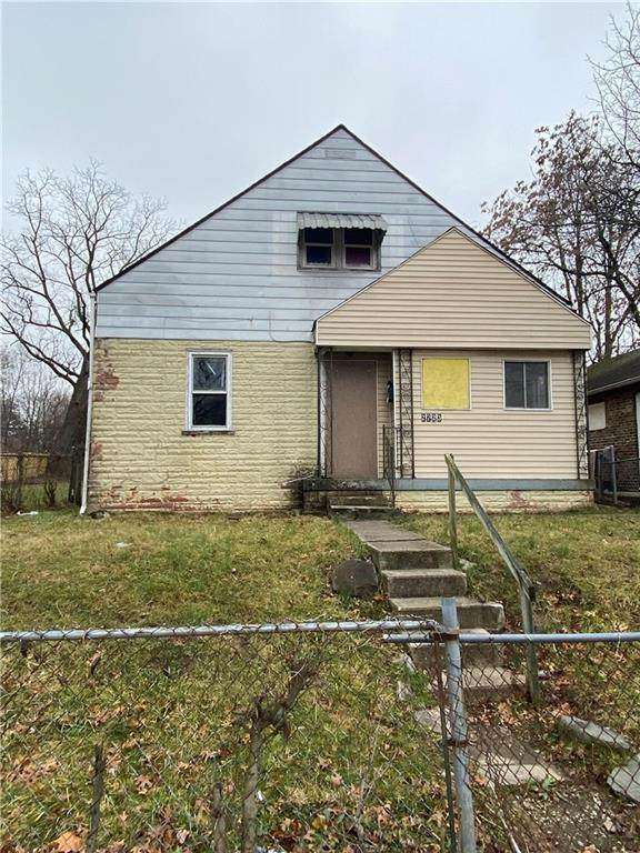 2723 Stuart Street, Indianapolis, IN 46218 (MLS #21754834) :: The Evelo Team