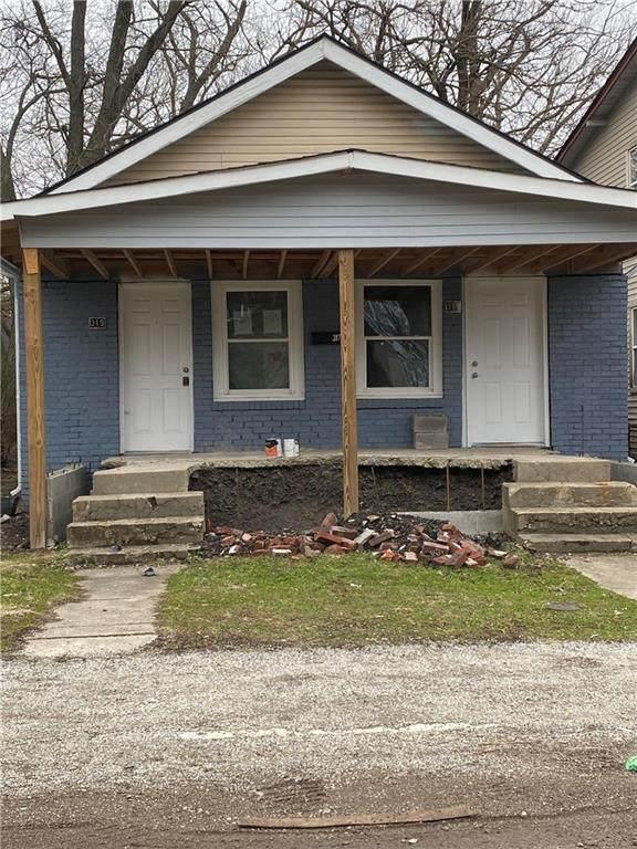 319 N Forest Avenue, Indianapolis, IN 46201 (MLS #21755041) :: Keller & Corbett Real Estate