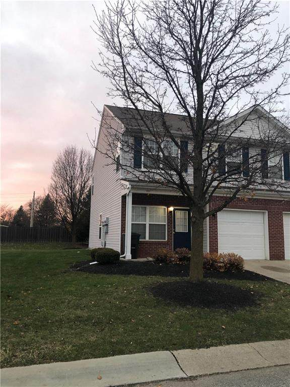 4906 N Tuscany Lane, Indianapolis, IN 46254 (MLS #21755224) :: The Evelo Team