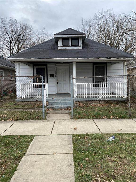 2950 N Gale Street, Indianapolis, IN 46218 (MLS #21755555) :: The Evelo Team