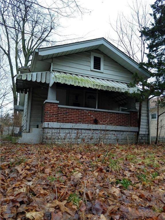 830 N Grant Avenue, Indianapolis, IN 46201 (MLS #21755574) :: The ORR Home Selling Team