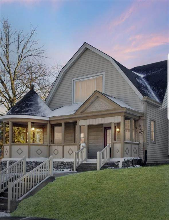 231 E Washington Street, Greensburg, IN 47240 (MLS #21755925) :: The Indy Property Source