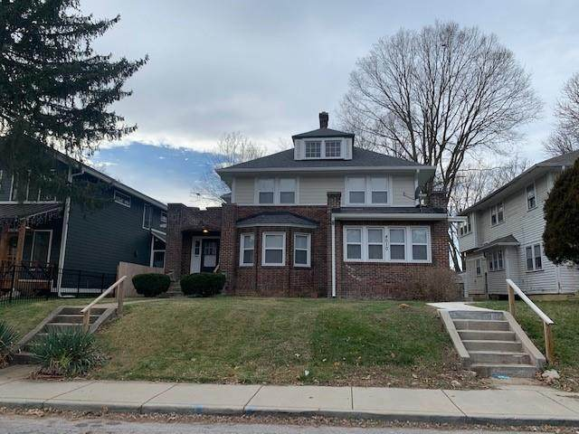 4010 Carrollton Avenue, Indianapolis, IN 46205 (MLS #21756878) :: The Evelo Team