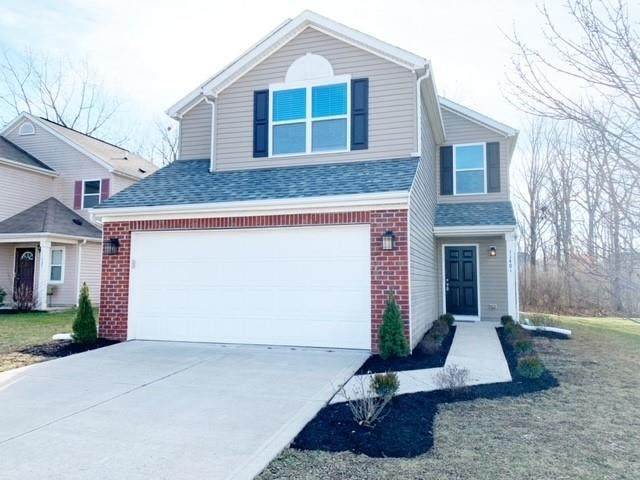 11401 High Grass Drive, Indianapolis, IN 46235 (MLS #21758316) :: The Evelo Team