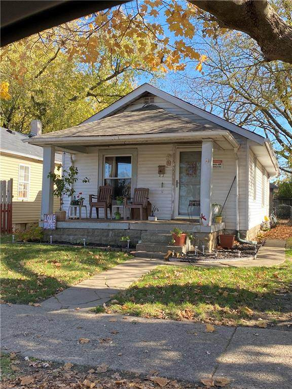 645 N Luett Avenue, Indianapolis, IN 46222 (MLS #21759445) :: AR/haus Group Realty