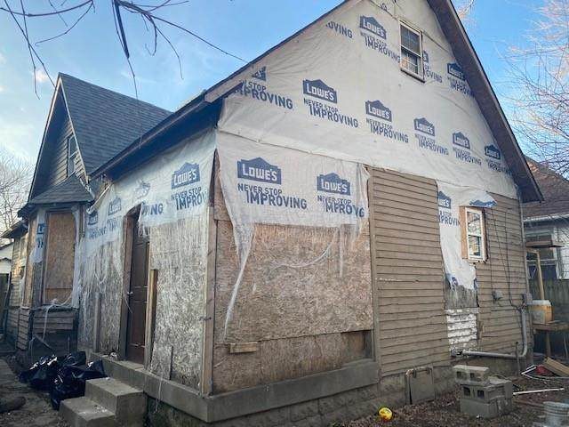 437 N Denny Street, Indianapolis, IN 46201 (MLS #21759654) :: Realty ONE Group Dream