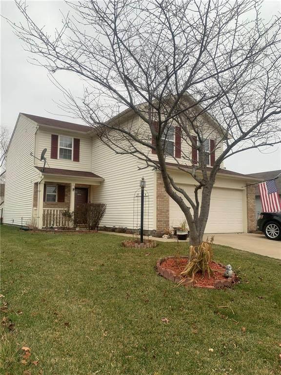 1640 Long Lake Drive, Greenwood, IN 46143 (MLS #21759990) :: Corbett & Company