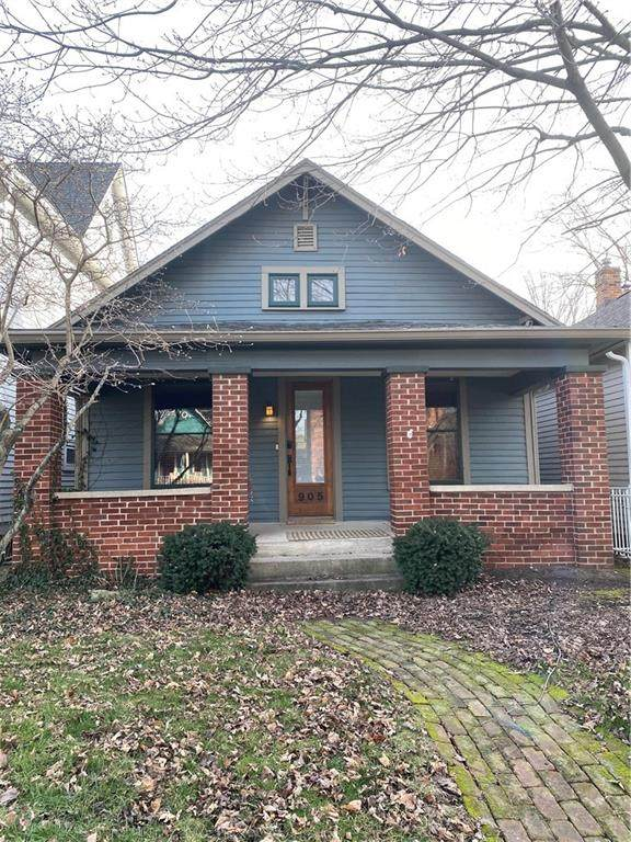 905 Broadway Street, Indianapolis, IN 46202 (MLS #21761147) :: Mike Price Realty Team - RE/MAX Centerstone
