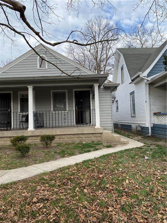 1018 W 34th Street, Indianapolis, IN 46208 (MLS #21763768) :: Dean Wagner Realtors