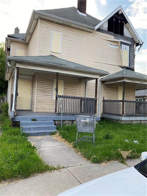 10 N Keystone Avenue, Indianapolis, IN 46201 (MLS #21763950) :: Anthony Robinson & AMR Real Estate Group LLC