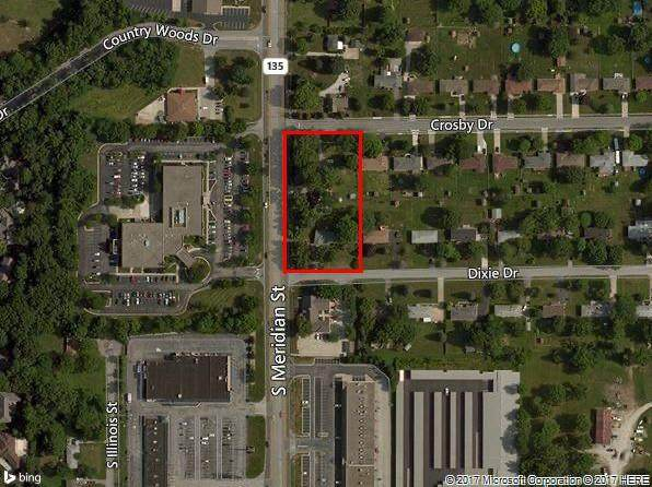 8809 S Meridian Street, Indianapolis, IN 46217 (MLS #21764250) :: Dean Wagner Realtors