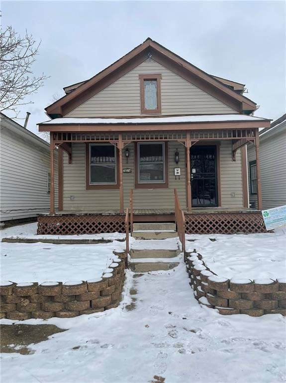 1614 Central Avenue, Anderson, IN 46016 (MLS #21765643) :: Mike Price Realty Team - RE/MAX Centerstone