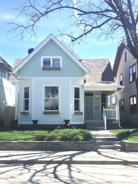 1527 S East Street, Indianapolis, IN 46225 (MLS #21768800) :: Heard Real Estate Team | eXp Realty, LLC