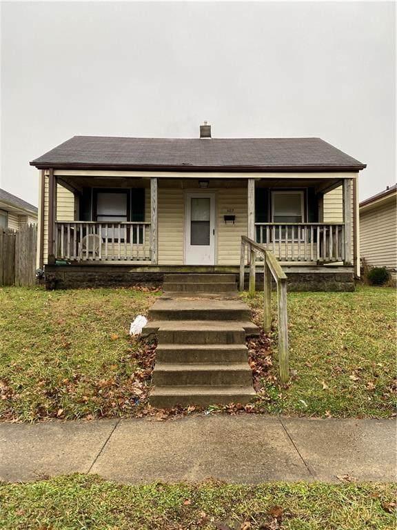 1127 E 27th Street, Anderson, IN 46016 (MLS #21769764) :: Dean Wagner Realtors